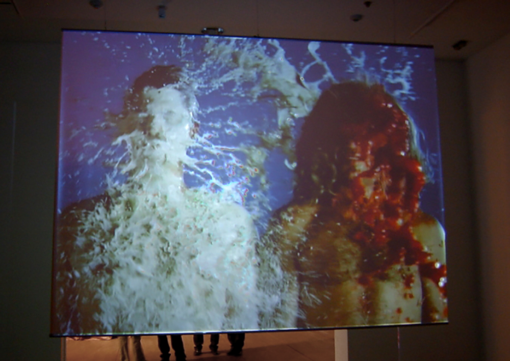 Installation View (projection screen version)